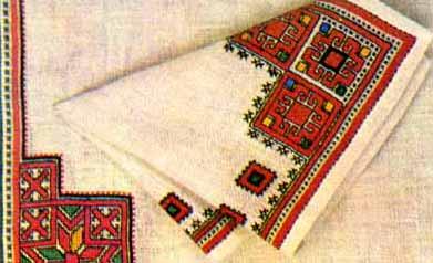 Чувашская народная вышивка это вышивка